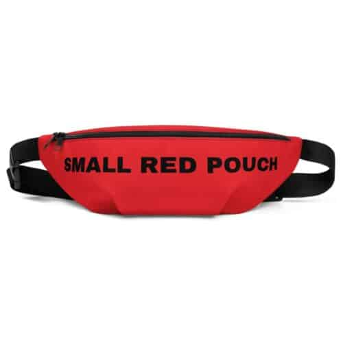 Small Red Pouch 2