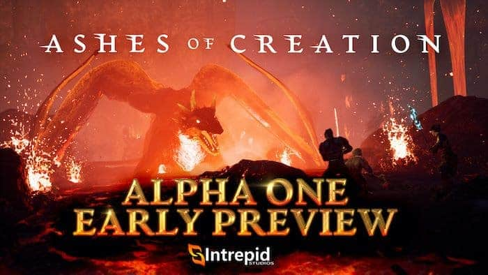 Ashes of Creation Alpha One Event 27th of March 1