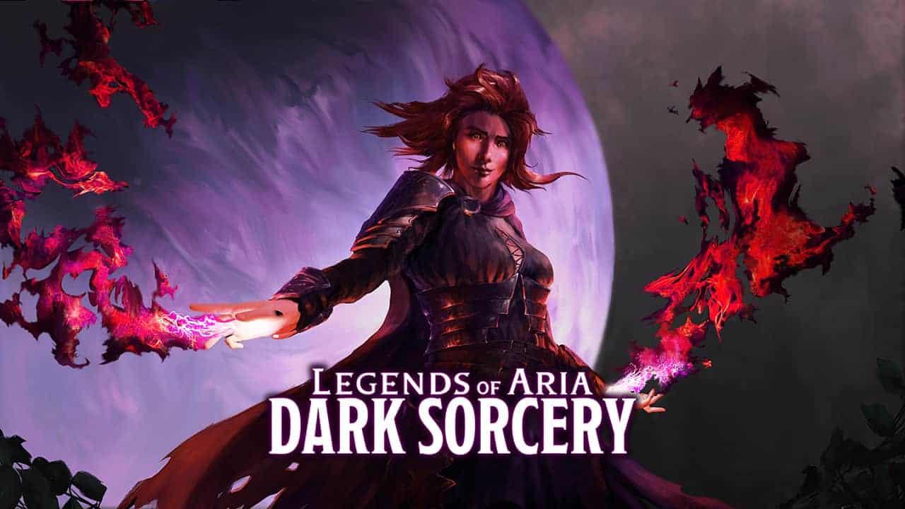 Legends of Aria Announces DLC: Dark Sorcery 3