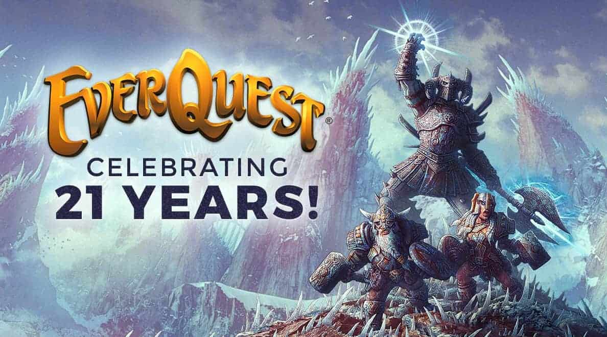 Everquest Turns 21 -Free 85 Character Boost, New TLP Servers Announced and Server Merges 8