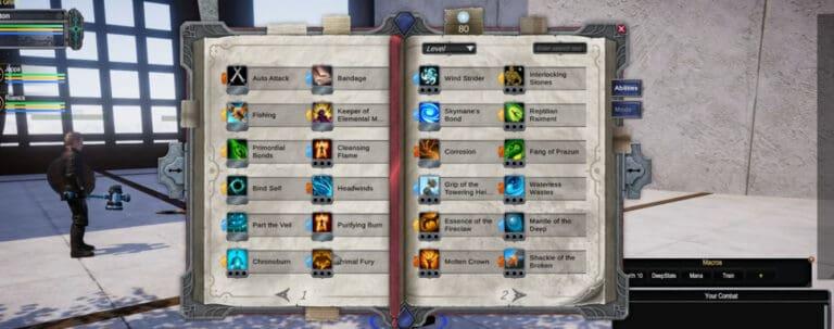 Pantheon Mastery System