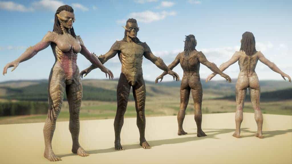 Pantheon April Producer's Letter Shows Skar, Dark Myr and Archai Models 8
