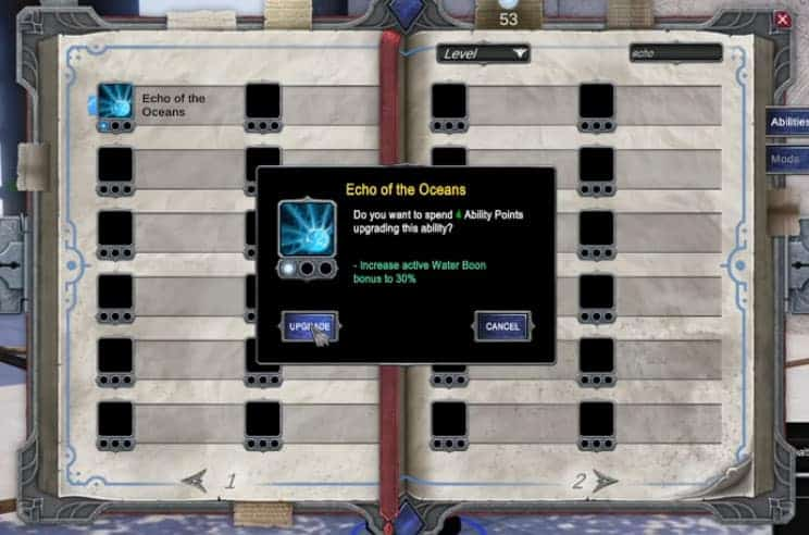 Pantheon: Rise of the Fallen Mastery System 1