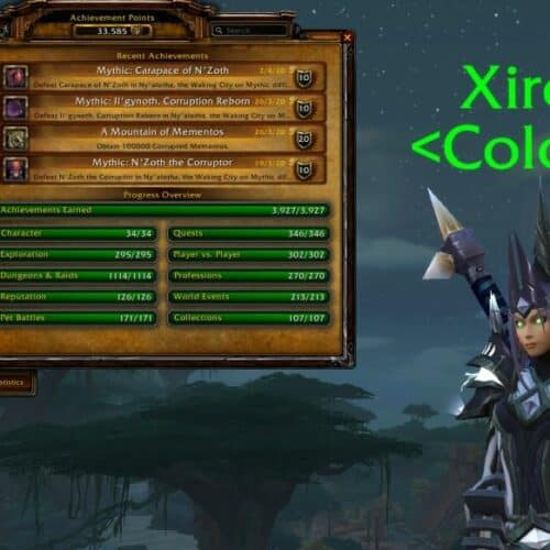 Xirev Earns Every Battle for Azeroth Achievement