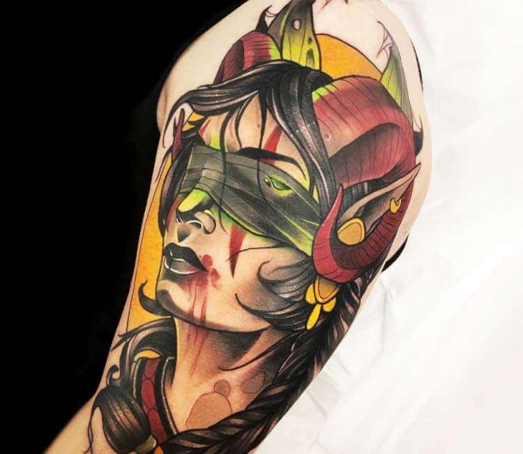 60+ WoW Tattoo Ideas - The Best World of Warcraft Tattoos 44