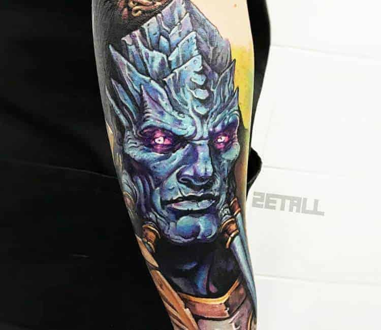 60+ WoW Tattoo Ideas - The Best World of Warcraft Tattoos 31