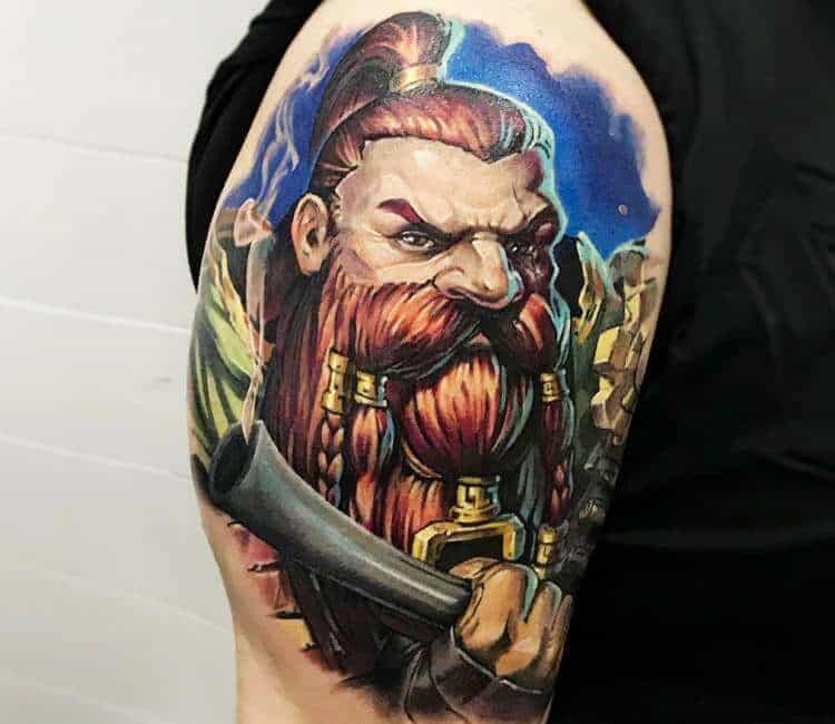 60+ WoW Tattoo Ideas - The Best World of Warcraft Tattoos 32