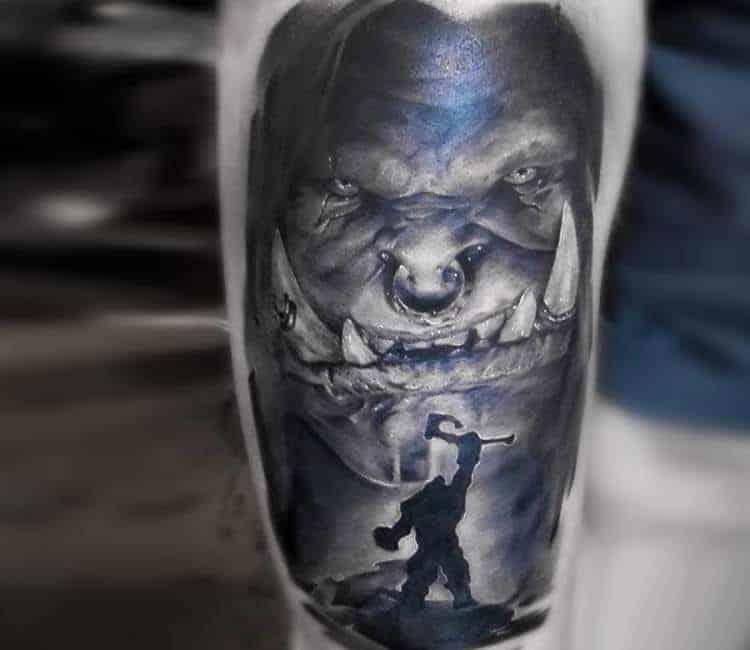 60+ WoW Tattoo Ideas - The Best World of Warcraft Tattoos 1