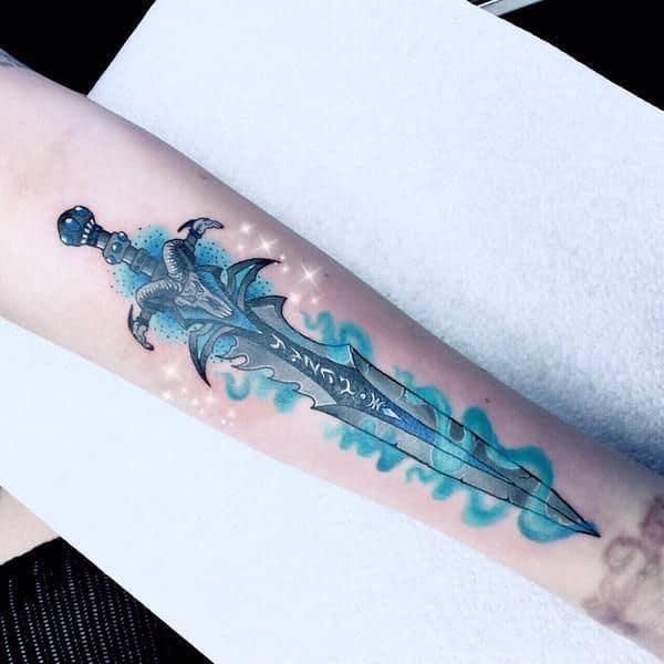 60+ WoW Tattoo Ideas - The Best World of Warcraft Tattoos 46