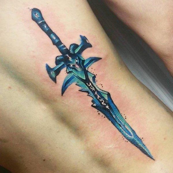 60+ WoW Tattoo Ideas - The Best World of Warcraft Tattoos 48