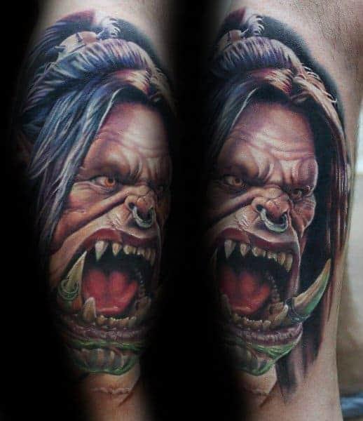 60+ WoW Tattoo Ideas - The Best World of Warcraft Tattoos 2