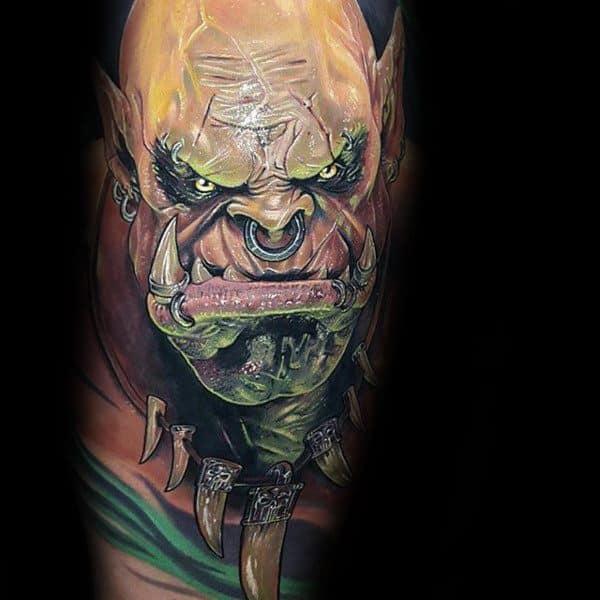 60+ WoW Tattoo Ideas - The Best World of Warcraft Tattoos 3