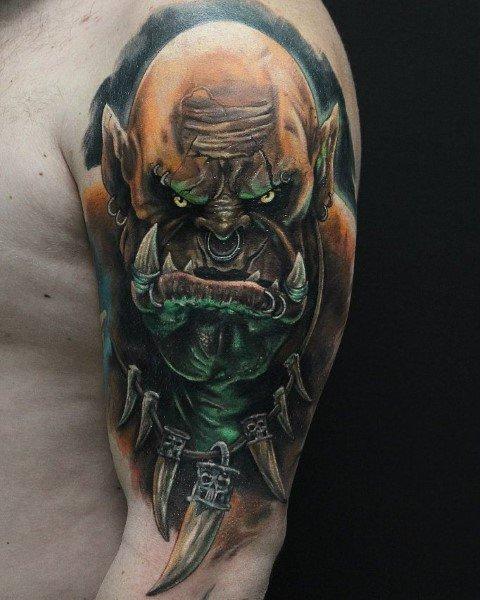 60+ WoW Tattoo Ideas - The Best World of Warcraft Tattoos 4