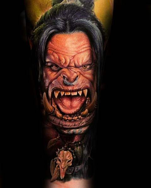 60+ WoW Tattoo Ideas - The Best World of Warcraft Tattoos 6
