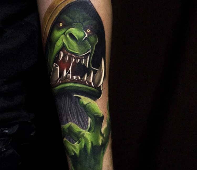 60+ WoW Tattoo Ideas - The Best World of Warcraft Tattoos 7