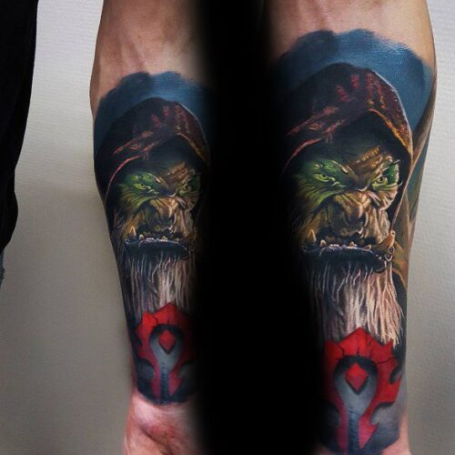 60+ WoW Tattoo Ideas - The Best World of Warcraft Tattoos