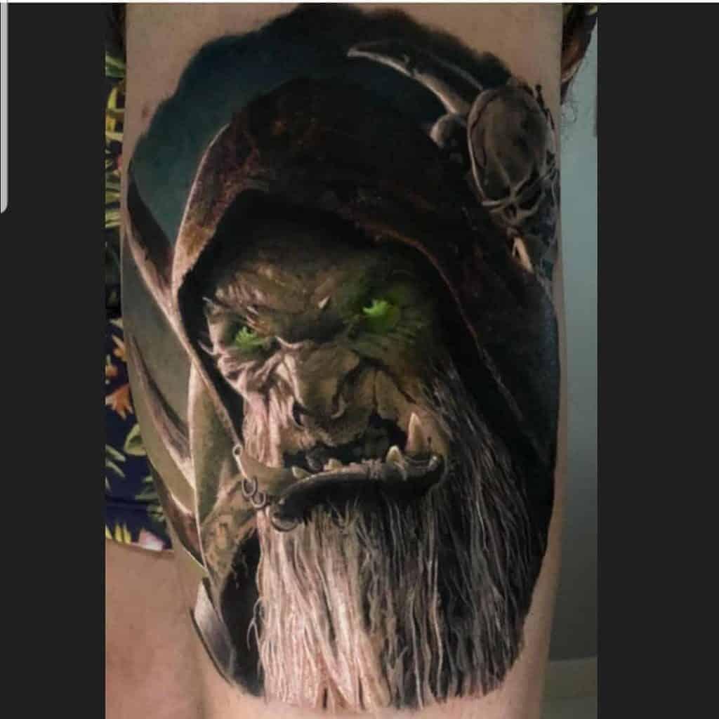 60+ WoW Tattoo Ideas - The Best World of Warcraft Tattoos 8