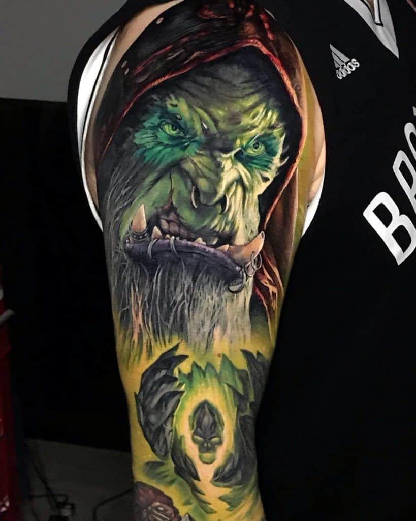 60+ WoW Tattoo Ideas - The Best World of Warcraft Tattoos 9