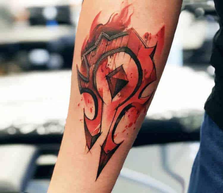 60+ WoW Tattoo Ideas - The Best World of Warcraft Tattoos 12