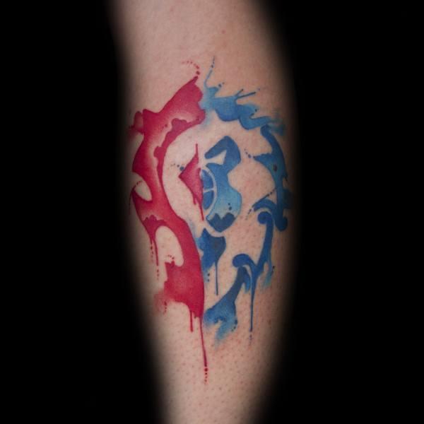 60+ WoW Tattoo Ideas - The Best World of Warcraft Tattoos 10