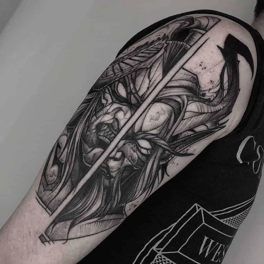 60+ WoW Tattoo Ideas - The Best World of Warcraft Tattoos 49