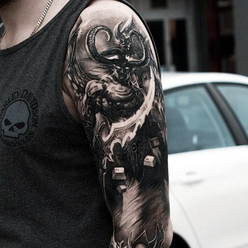 60+ WoW Tattoo Ideas - The Best World of Warcraft Tattoos 50
