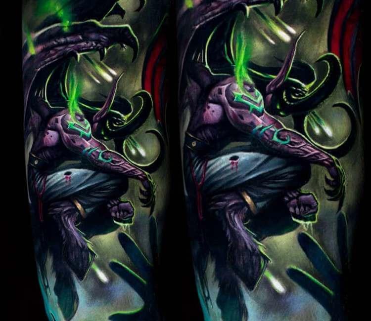 60+ WoW Tattoo Ideas - The Best World of Warcraft Tattoos 51