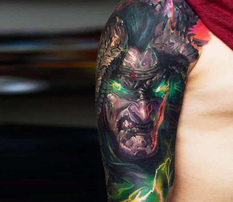 60+ WoW Tattoo Ideas - The Best World of Warcraft Tattoos 53