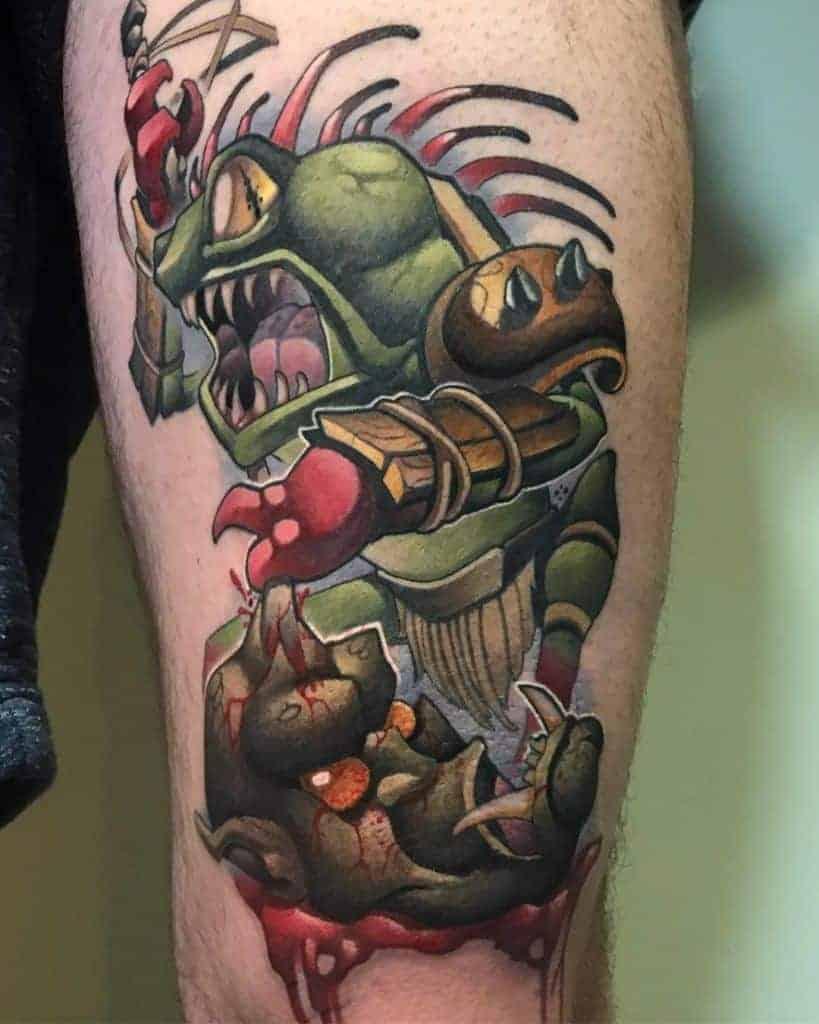 60+ WoW Tattoo Ideas - The Best World of Warcraft Tattoos 56