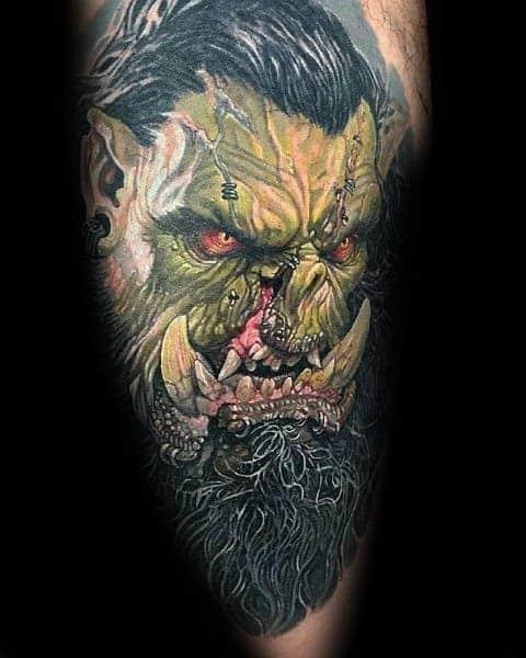 60+ WoW Tattoo Ideas - The Best World of Warcraft Tattoos 16