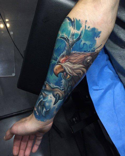 60+ WoW Tattoo Ideas - The Best World of Warcraft Tattoos 58