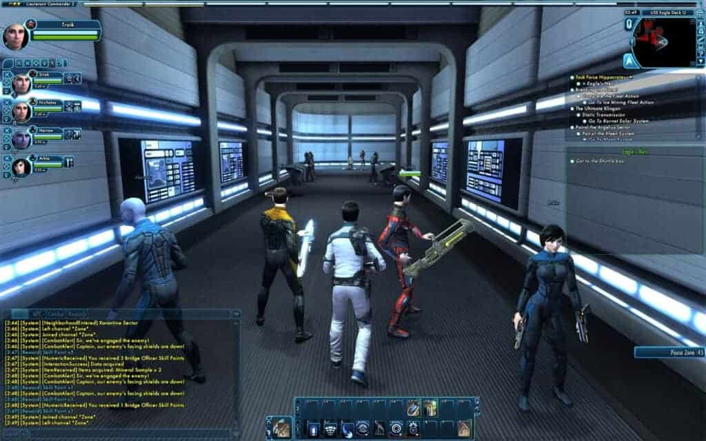 Star trek online lets you command your own ship