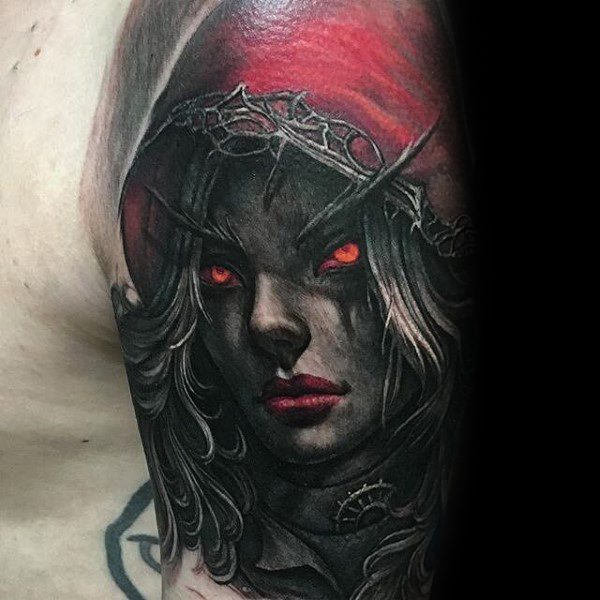 60+ WoW Tattoo Ideas - The Best World of Warcraft Tattoos 17