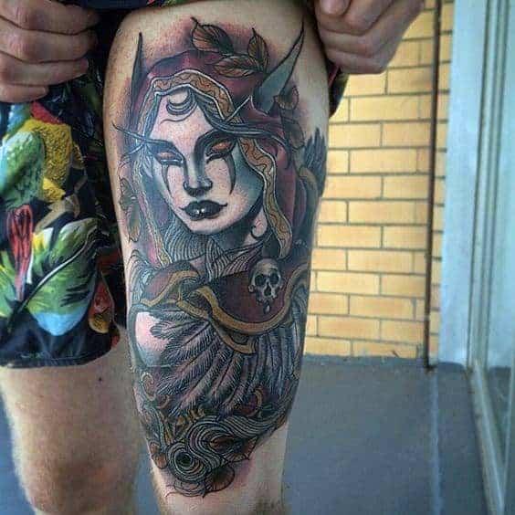 60+ WoW Tattoo Ideas - The Best World of Warcraft Tattoos 18