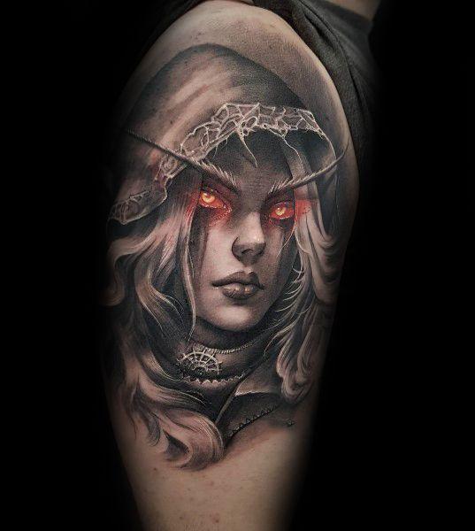60+ WoW Tattoo Ideas - The Best World of Warcraft Tattoos 19