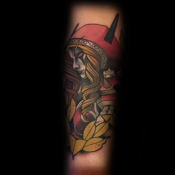 60+ WoW Tattoo Ideas - The Best World of Warcraft Tattoos 20