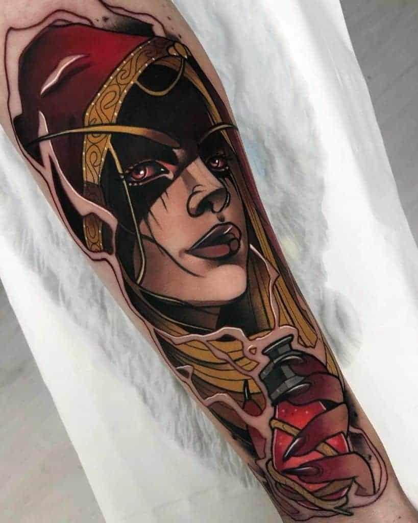 60+ WoW Tattoo Ideas - The Best World of Warcraft Tattoos 21