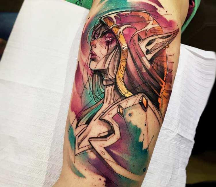 60+ WoW Tattoo Ideas - The Best World of Warcraft Tattoos 22