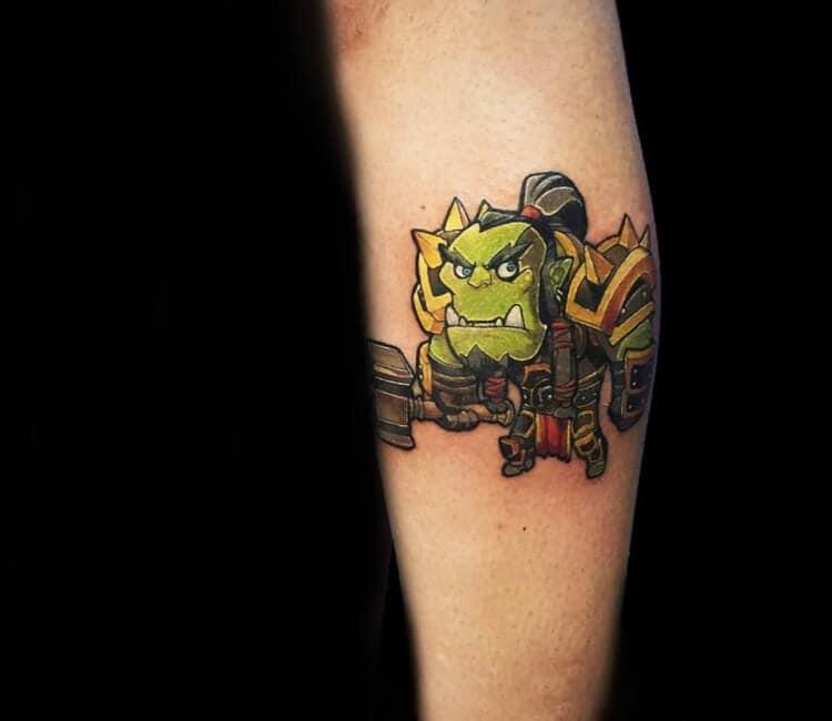 60+ WoW Tattoo Ideas - The Best World of Warcraft Tattoos 23