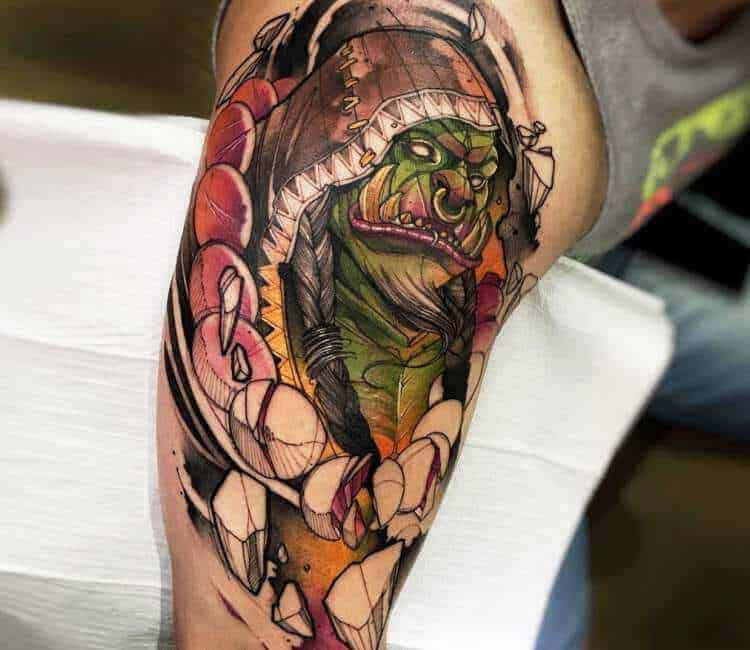 60+ WoW Tattoo Ideas - The Best World of Warcraft Tattoos 24