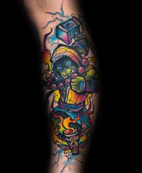 60+ WoW Tattoo Ideas - The Best World of Warcraft Tattoos 25