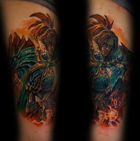 60+ WoW Tattoo Ideas - The Best World of Warcraft Tattoos 35