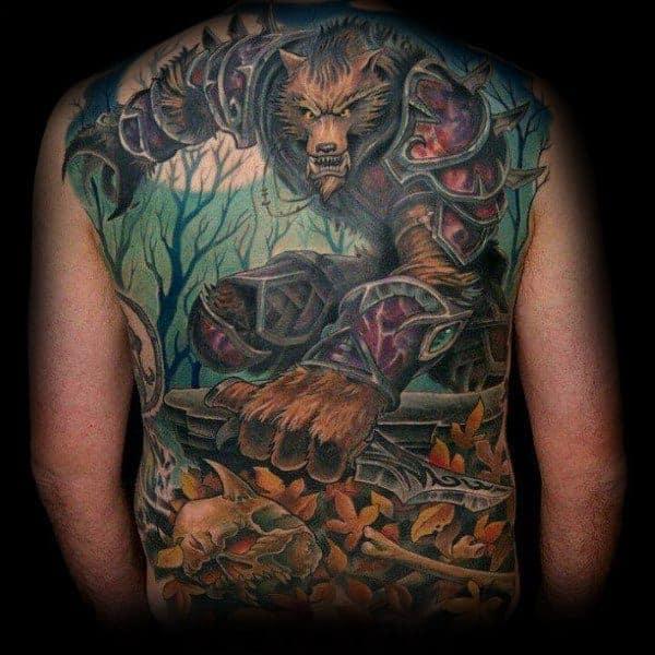 60+ WoW Tattoo Ideas - The Best World of Warcraft Tattoos 36