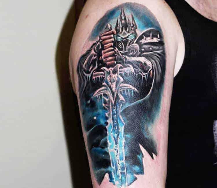 60+ WoW Tattoo Ideas - The Best World of Warcraft Tattoos 39