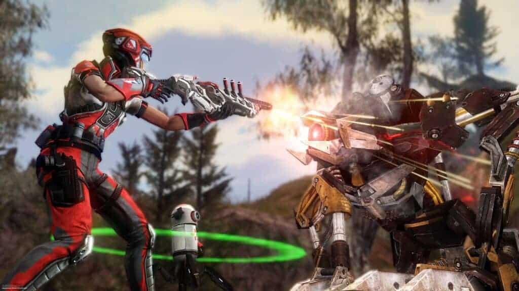 Defiance 2050 features customizable guns