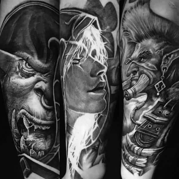 60+ WoW Tattoo Ideas - The Best World of Warcraft Tattoos 29