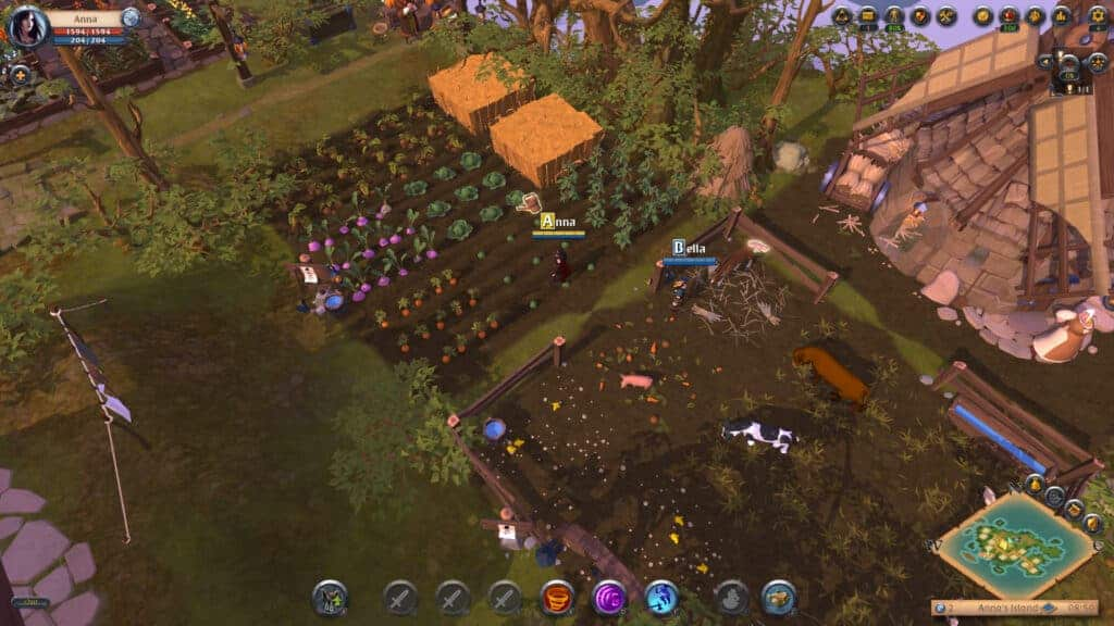 Albion Online also feature an isometric view like Runescape