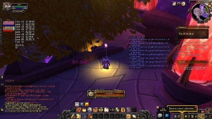 WoW SpeedLeveler 10-50 in Less Than 3 Hours in Shadowlands