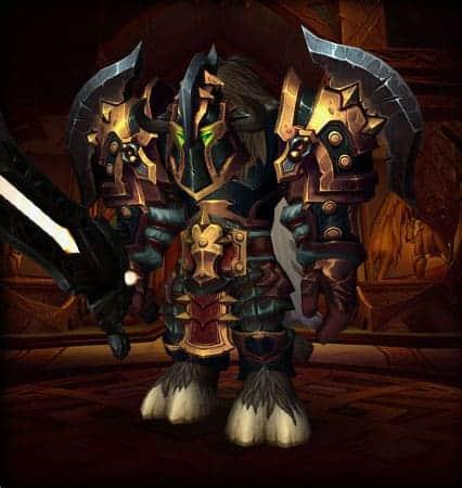 10 Best Warrior Transmog sets 9