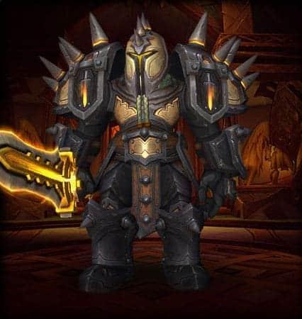 10 Best Warrior Transmog sets 8